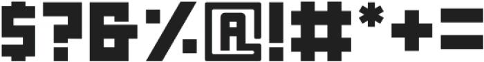 Nebraska Block ttf (400) Font OTHER CHARS