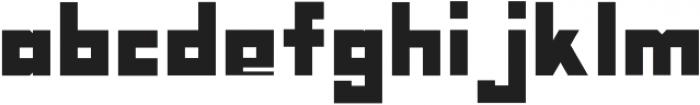 Nebraska Block ttf (400) Font LOWERCASE