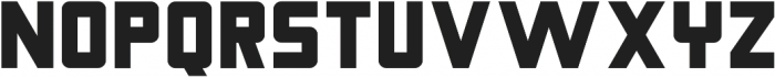 Nebraska Bold ttf (700) Font UPPERCASE