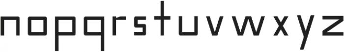 Nebraska Medium otf (500) Font LOWERCASE