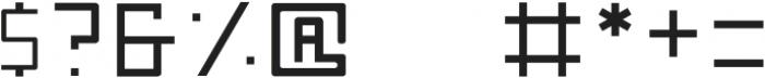 Nebraska Medium ttf (500) Font OTHER CHARS
