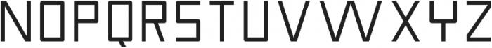 Nebraska Medium ttf (500) Font UPPERCASE