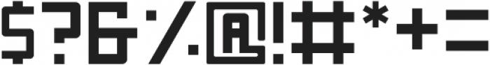Nebraska Semibold ttf (600) Font OTHER CHARS