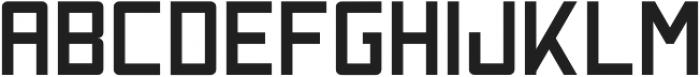 Nebraska Semibold ttf (600) Font UPPERCASE