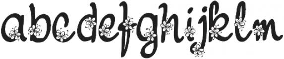 Nebulo otf (400) Font LOWERCASE