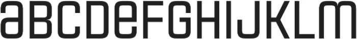 Necia Bold Unicase Regular otf (700) Font LOWERCASE