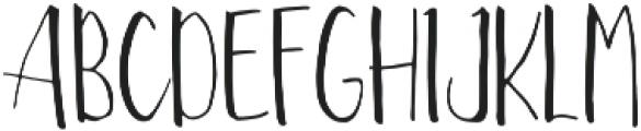Nefalin ttf (400) Font UPPERCASE