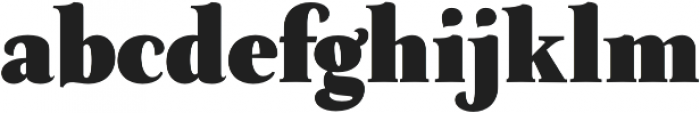 Neftali Pro Black otf (900) Font LOWERCASE