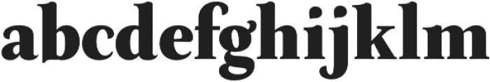 Neftali Pro ExtraBold otf (700) Font LOWERCASE