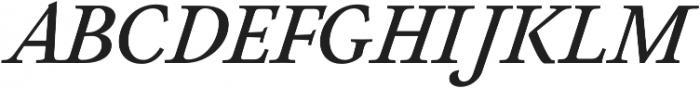 Neftali Pro Medium Italic otf (500) Font UPPERCASE