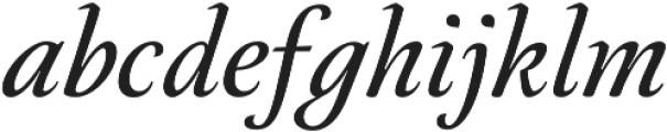 Neftali Pro Medium Italic otf (500) Font LOWERCASE