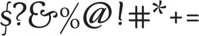 Neftali Pro Medium otf (500) Font OTHER CHARS