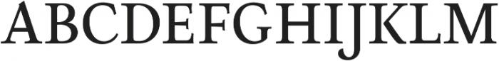 Neftali Pro Medium otf (500) Font UPPERCASE