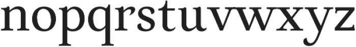 Neftali Pro Medium otf (500) Font LOWERCASE