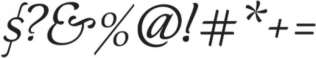 Neftali Pro Thin Italic otf (100) Font OTHER CHARS