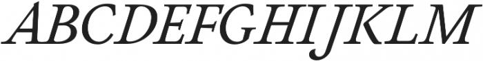Neftali Pro Thin Italic otf (100) Font UPPERCASE