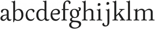 Neftali Pro Thin otf (100) Font LOWERCASE