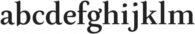 Neftali Pro otf (400) Font LOWERCASE