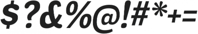 Negotiate Bold Italic otf (700) Font OTHER CHARS