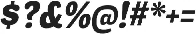 Negotiate Heavy Italic otf (800) Font OTHER CHARS