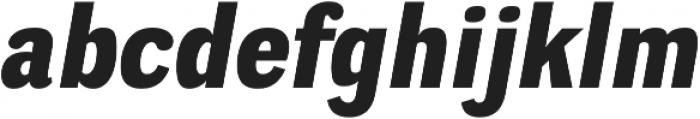 Negotiate Heavy Italic otf (800) Font LOWERCASE