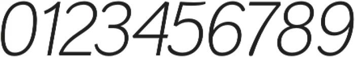 Negotiate Light Italic otf (300) Font OTHER CHARS