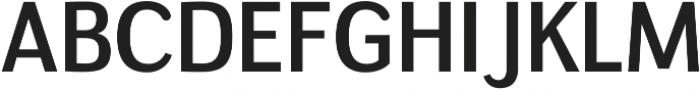 Negotiate Regular otf (400) Font UPPERCASE