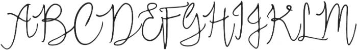 Neithan ttf (400) Font UPPERCASE