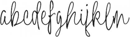Neithan ttf (400) Font LOWERCASE