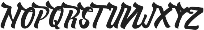 Nelda ttf (400) Font UPPERCASE