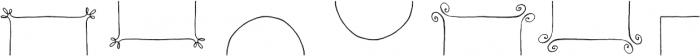 Nelly Frames Regular otf (400) Font UPPERCASE