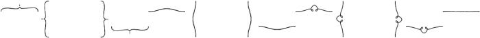 Nelly Frames Regular otf (400) Font LOWERCASE
