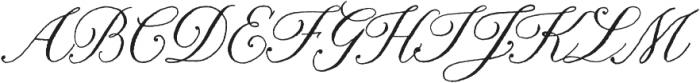 Nelly Script Regular otf (400) Font UPPERCASE