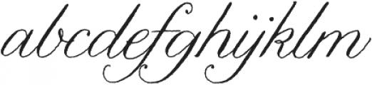 Nelly Script Regular otf (400) Font LOWERCASE