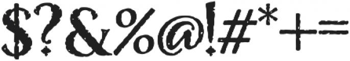 Nelson Bold otf (700) Font OTHER CHARS