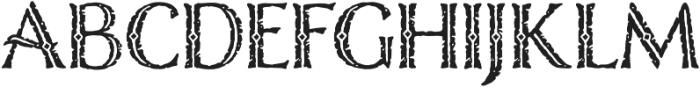 Nelson Engraved otf (400) Font UPPERCASE