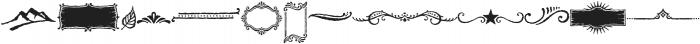 Nelson Ornaments otf (400) Font LOWERCASE