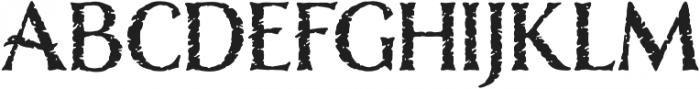 Nelson Rugged otf (400) Font UPPERCASE