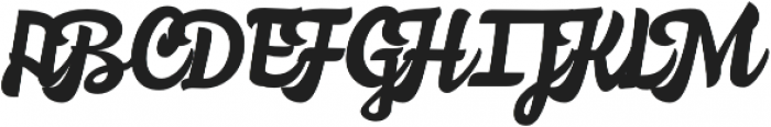 Nemocon Script otf (400) Font UPPERCASE