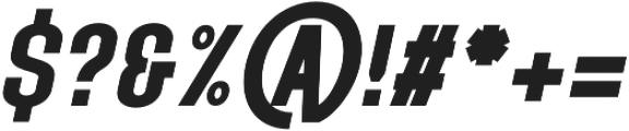 Neo Mayhem Oblique otf (400) Font OTHER CHARS