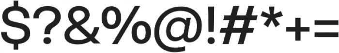Neogrotesk Ess Alt otf (400) Font OTHER CHARS