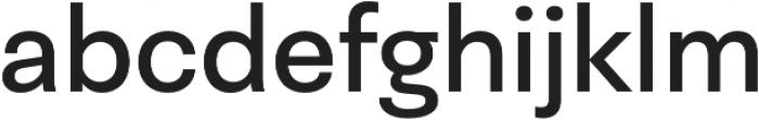 Neogrotesk Ess otf (400) Font LOWERCASE
