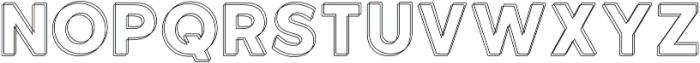 Neon Double otf (400) Font UPPERCASE