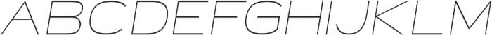Neon Thin Italic otf (100) Font UPPERCASE