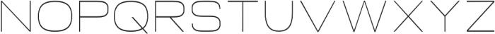 Neon Thin otf (100) Font LOWERCASE