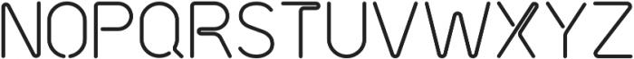 Neon Tubes 2 otf (400) Font LOWERCASE