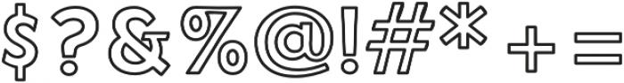 NeonDerthaw Sans otf (400) Font OTHER CHARS