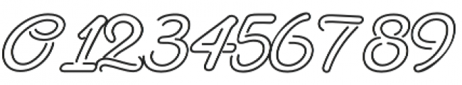 NeonDerthawROB otf (400) Font OTHER CHARS