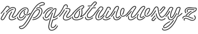 NeonDerthawROB otf (400) Font LOWERCASE