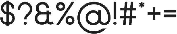 Neou otf (700) Font OTHER CHARS